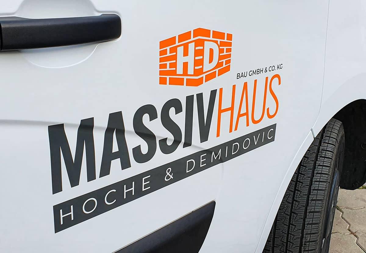 HD Massivhaus - Renault Master Pritsche